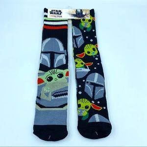 Disney Star Wars The Mandalorian Baby Yoda Socks